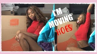 MOVING INTO MY FIRST APARTMENT | SHOP WITH ME | MOVING VLOG PART ONE Abigail Ashley