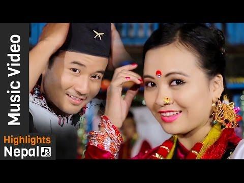 Chandramukhi - New Nepali Kaura Song 2016/2073   Hemant Ale, Asha Thapa   Gorkha Chautari