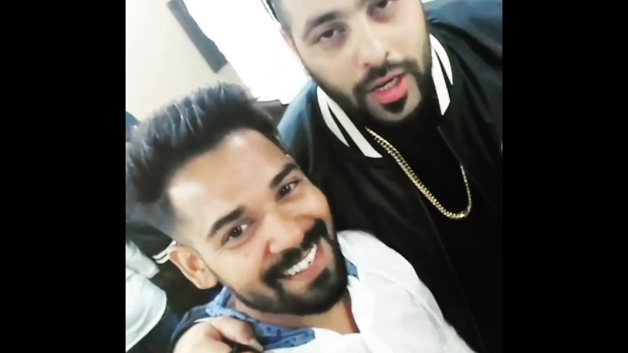 Badshah bhai hairstyle - YouTube