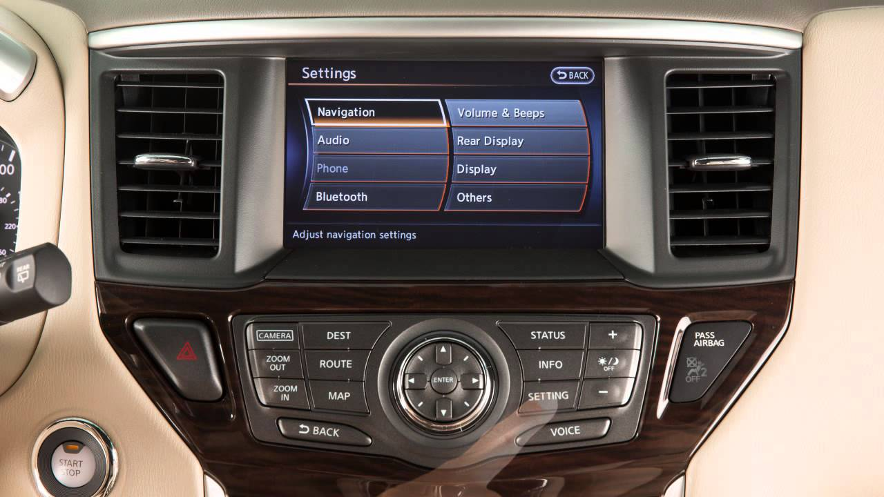2016 NISSAN Pathfinder Bluetooth Streaming Audio With
