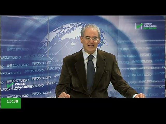 InfoStudio il telegiornale della Calabria notizie e approfondimenti - 13 Gennaio 2020 ore 13.30