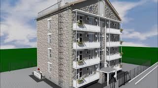 Проект дома на 16 квартир