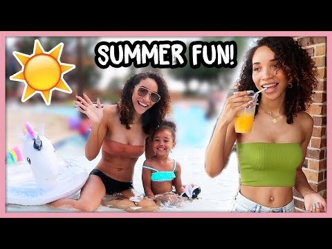 Lit Summer Weekend with Friends & Family! | MOM VLOG