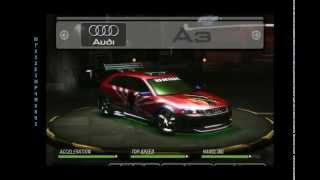 My Need For Speed Underground 2 Car List (140 Tuned Cars)