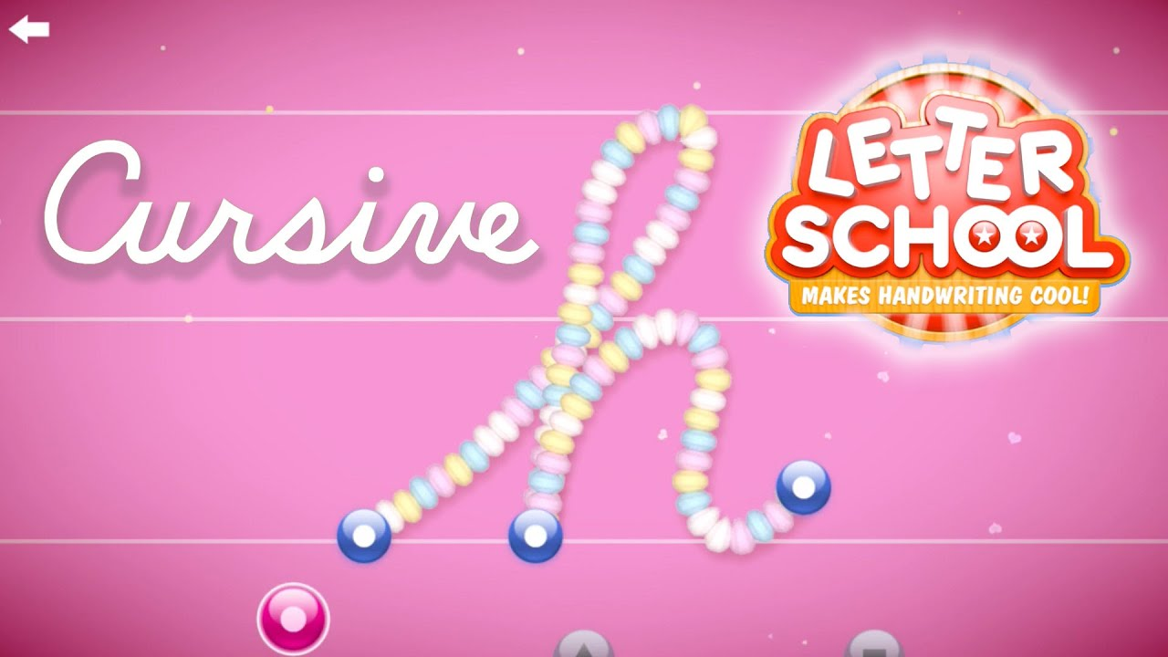 Letterschool Cursive Writing Kids Education App