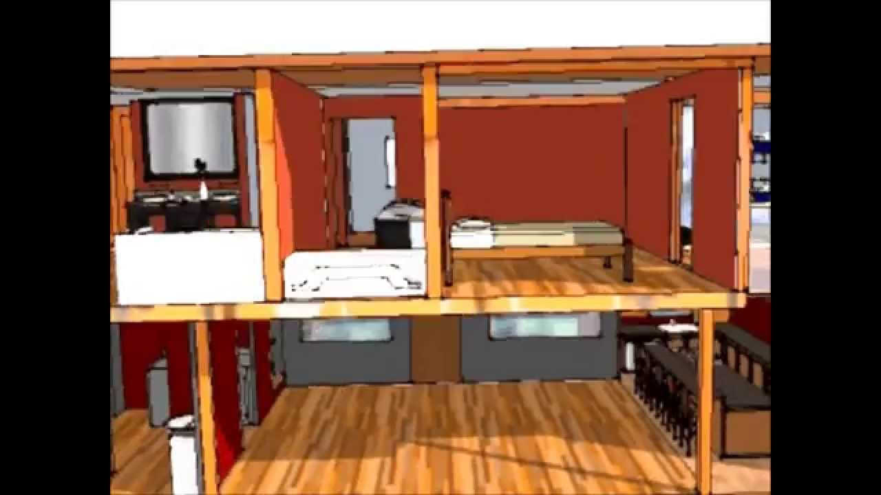Container home design building a container home is extremely cost effective youtube - Shipping container homes cost to build ...