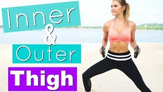 Inner & Outer Thigh Workout | Rebecca Louise