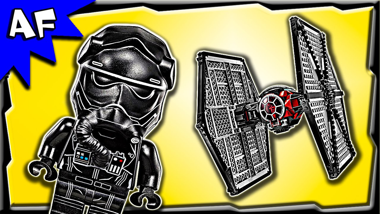 Lego Star Wars First Order Special Forces Tie Fighter 75101 Stop 75157 Captain Rexamp039s At Te Motion Build Review