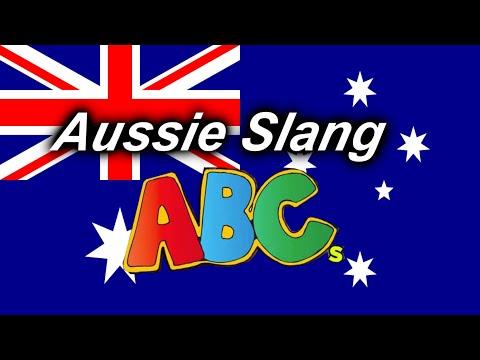The Alphabet, except it's AUSTRALIAN SLANG