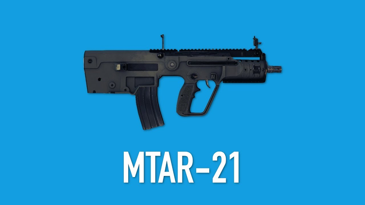[PAYDAY 2] MTAR 21 - Weapon Guide #23