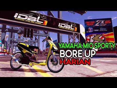 Balapan Drag Resmi Mengunakan Yamaha Mio Bore Up  GTA 5 MODS