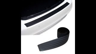 видео Накладка на задний бампер Р.А. для BMW X5 E70 (БМВ X5 е70) 2010-2013