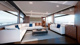 Presenting the All New Princess 88 Motor Yacht