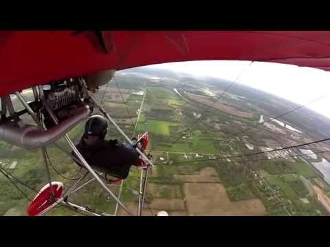 GoPro Quicksilver to Moraine Airshow - Dayton Ultralights