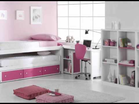 Dormitorios juveniles modulares y macizos youtube for Muebles modulares juveniles