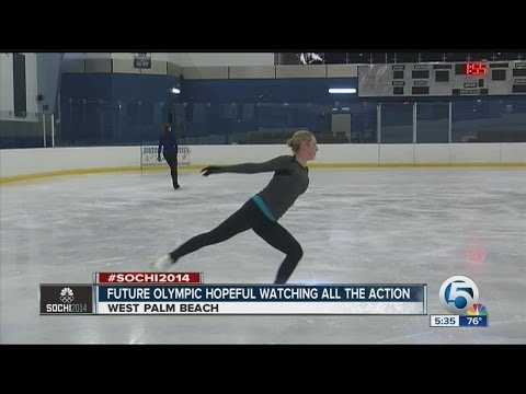 Local teen figure skater dreams of the Olympics
