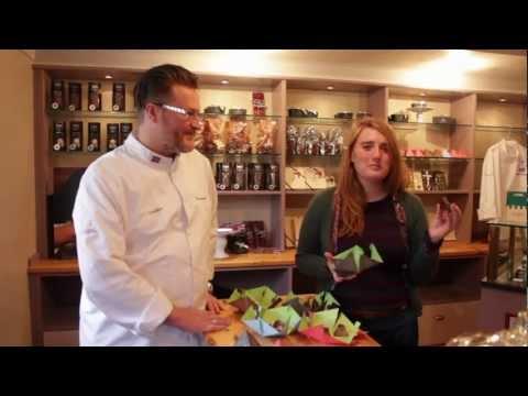 Chocolate mountains- Icelandic food design