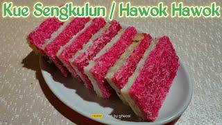 Cara Membuat jajanan tradisional kue sengkulun / hawok-hawok yang mudah dan yang pasti enak