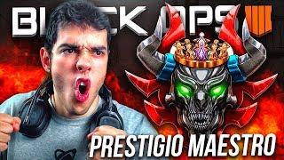 ¡¡MAESTRO PRESTIGIO NIVEL 230 TOP 5 ESPAÑOL EN DIRECTO!! CALL OF DUTY BLACK OPS 4