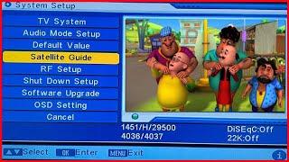 Nick Motu patlu canal de dibujos animados en DD Libre del Plato canal de dibujos animados truco en DD libre del plato