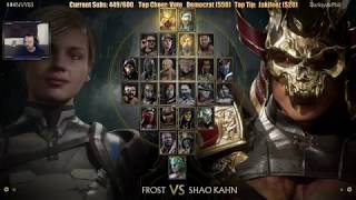 Mortal Kombat 11 1st Online MP - Shao Khan