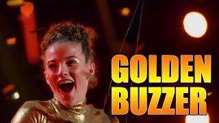 Sofie Dossi Golden Buzzer Contortionist America's Got Talent 2016 Judge Cuts|GTF