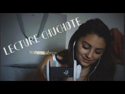 ASMR FRANCAIS ♡ 3DIO - Lecture Chuchoté  (#1 - Conte de Grimm) ♡