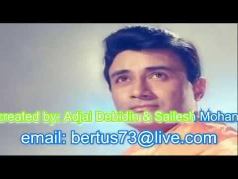hai apna dil to awara karaoke with lyrics