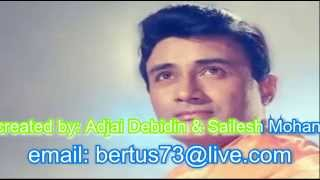 hai apna dil to awara karaoke with lyrics