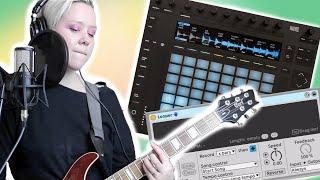 Live LOOP Performance - Session Walkthrough & Setup - Ableton Live & Push 2