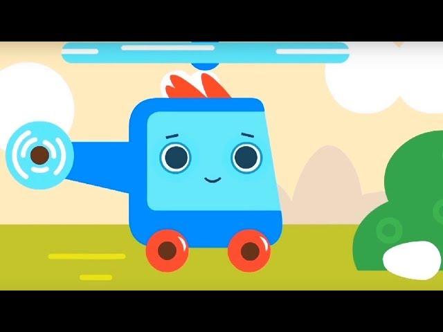 Развивающий мультфильм - Грузовичок Пик - Гонка + Потерянное яичко  - про машинки