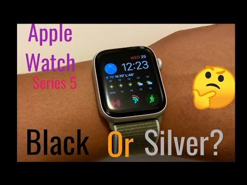 Series 5 Apple Watch In Silver Aluminum; Which Color?