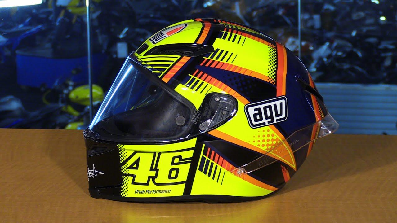 AGV Corsa Full Face Motorcycle Helmet Review