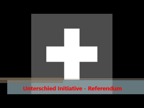 Unterschied Initiative - Referendum, Schweizer Staatskunde - YouTube