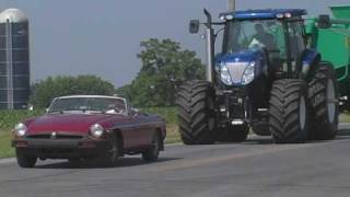 New Holland T7070 BluePower: Timid Operators Need Not Apply thumbnail
