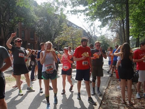 One Man Is Changing The NYC Running Scene, One Pizza Slice At A Time