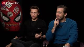 Interview Tom Holland & Jake Gyllenhaal SPIDER-MAN: FAR FROM HOME