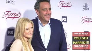 Brad Garrett and Isabeall Quella at the For Your Consideration Event For FX's Fargo at Paramount Pic