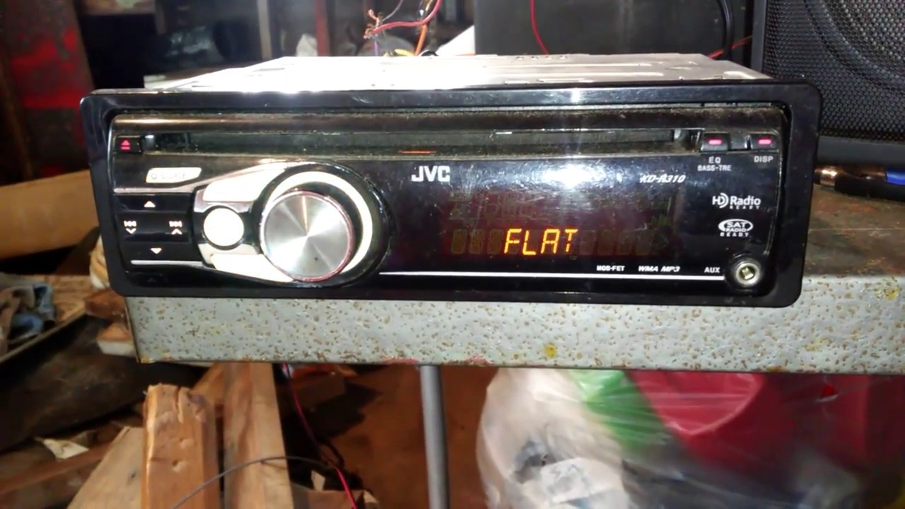 jvc cd  radio  aux stereo
