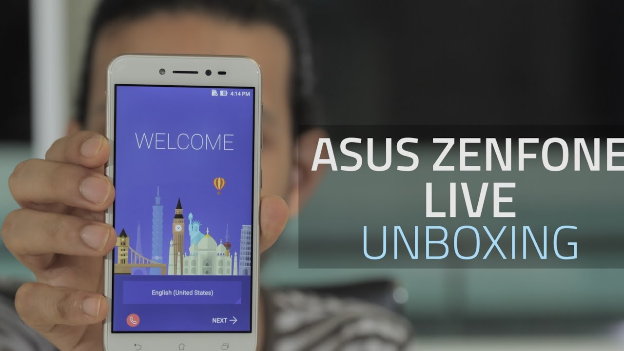 Asus Zenfone Live Unboxing And First Look Youtube Zb501kl Smartphone 16gb 2gb