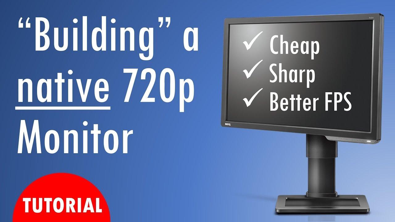 Building a native 8p monitor ft OzTalksHW