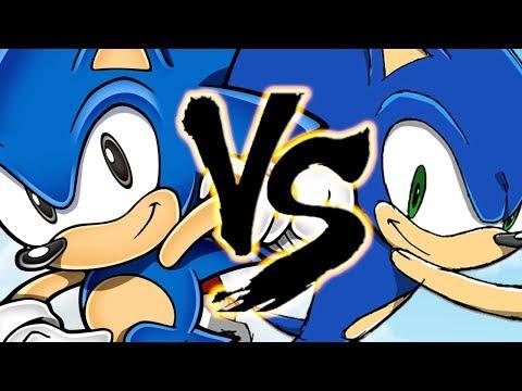 Sonic Classic Vs. Sonic Modern
