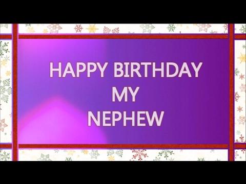 Birthday Wishes For Nephew Happy Birthday Nephew Youtube
