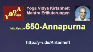 Annapurna Shloka - Übersetzung und Bedeutung 650