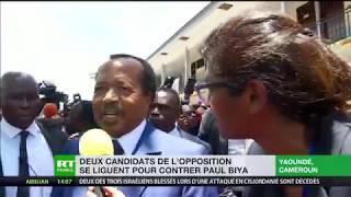 Présidentielle au Cameroun : «Rien n'est gagné d'avance», selon le président Paul Biya