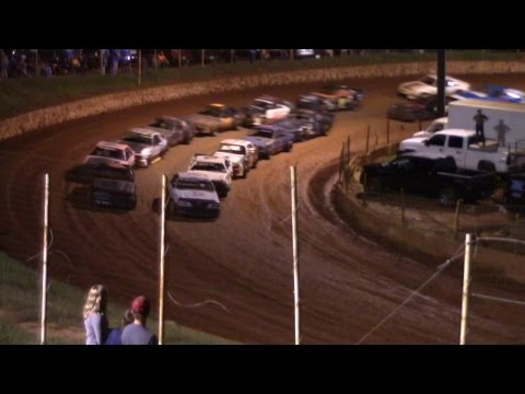 Winder Barrow Speedway Stock Four Cylinders Feature 9/19/15