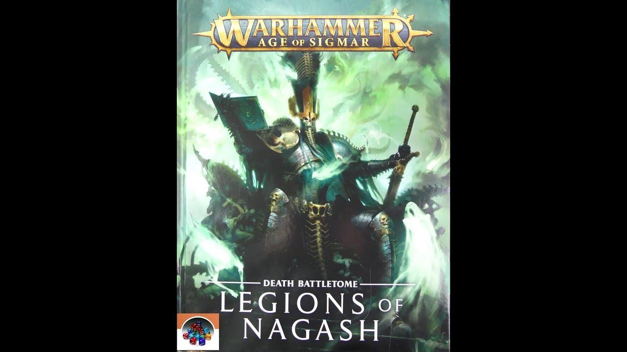 Warhammer Age of Sigmar Battletome Legions of Nagash