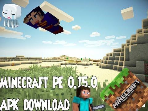 Nova versão do Minecraft PE V15.0 Build 1