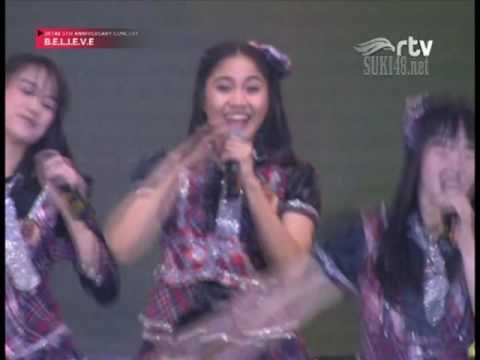 [1080p] JKT48 - 1! 2! 3! 4! Yoroshiku @ JKT48 5th Anniversary Concert BELIEVE - RTV