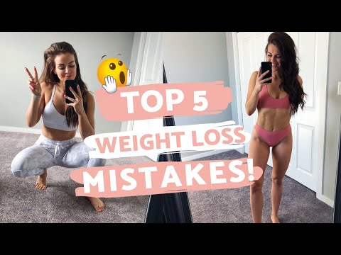 WEIGHT LOSS MISTAKES // 5 Reasons You Are Not Losing Weight